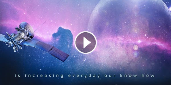 Édition vidéo d'un film institutionnel pour un acteur de l'industrie du spatial