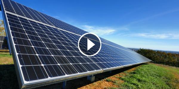 Réalisation d'un film institutionnel court métrage sur les énergies vertes