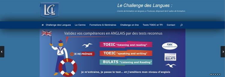 Refonte du site vitrine du centre de formation en langues LCL