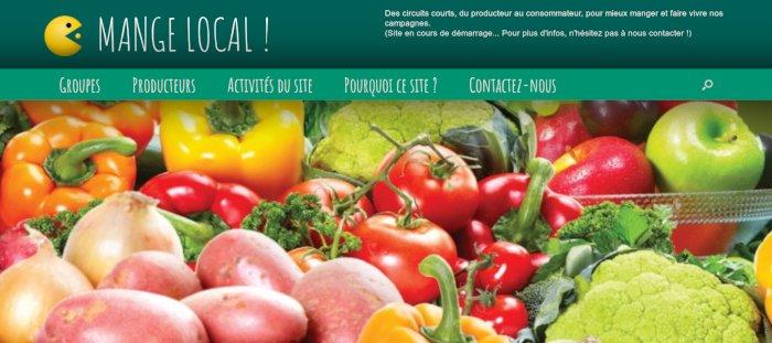 MANGELOCAL.FR : LE site des petits producteurs agricoles locaux
