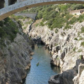 Gorges de l'Hérault au pont du diable