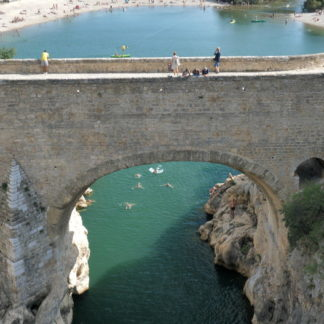 Pont du diable travelling vertical