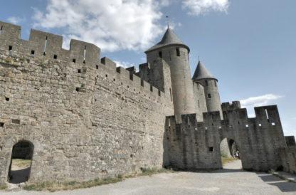 Panoramique 1 des remparts de Carcassonne