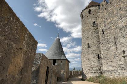 Panoramique 2 des remparts de Carcassonne