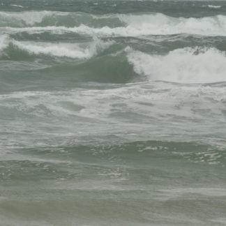 Tempête sur plages des Landes