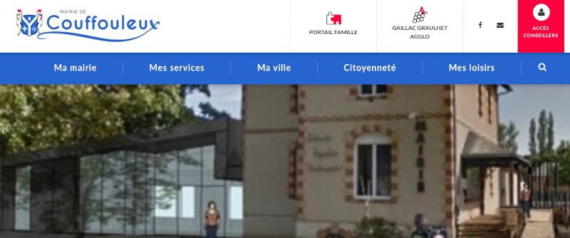 Transfert de site web de mairie