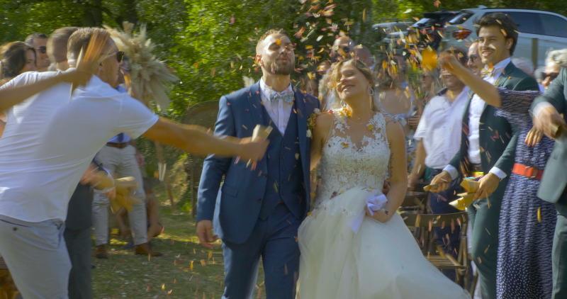 Réalisation d'un film vidéo de mariage dans le Tarn